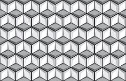 Безшовная предпосылка плитки куба Стоковая Фотография