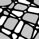 Безшовная предпосылка с геометрическими диаграммами Стоковые Фото