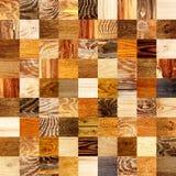 Безшовная предпосылка с деревянными картинами Стоковые Изображения RF