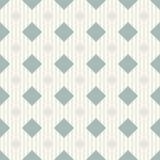 Безшовная предпосылка с зелеными квадратами и серыми линиями Стоковые Изображения