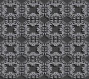 Безшовная предпосылка с свирлями Стоковое Фото
