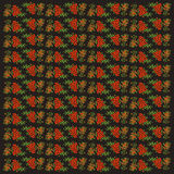 Безшовная предпосылка с rowanberry Стоковое Изображение