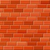 Безшовная предпосылка текстуры кирпичной стены Стоковое Фото