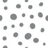Безшовная простая картина точек, предпосылка вектора иллюстрация штока