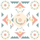 Безшовная птица картины войлока аравийца Стоковые Фото