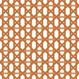 Безшовная плетеная картина Стоковое Фото
