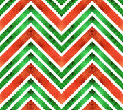 Безшовная ретро геометрическая картина с линиями зигзага Стоковое Изображение