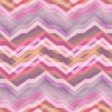 Безшовная розовая абстрактная ретро предпосылка вектора иллюстрация штока