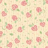 Безшовная розовая картина иллюстрация вектора