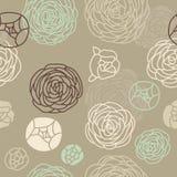 Безшовная розовая картина Стоковая Фотография