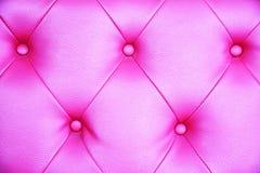 Безшовная розовая кожаная предпосылка текстуры Стоковые Фото