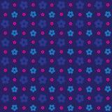Безшовная розовая красочная выбитая картина предпосылки цветка 3d Иллюстрация штока