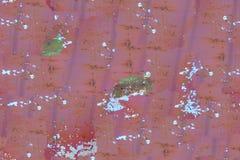 Безшовная старая ржавая предпосылка металла Стоковая Фотография RF