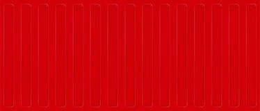 Безшовная стена листа профиля Красный контейнер грузовых перевозок E иллюстрация вектора