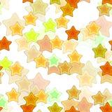 безшовная структура звезд Стоковая Фотография RF
