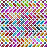 Безшовная текстура абстрактное яркое сияющее красочного Стоковое Изображение