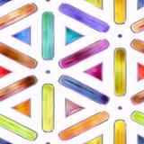 Безшовная текстура абстрактное яркое сияющее красочного Стоковое Фото