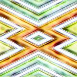 Безшовная текстура абстрактных ярких сияющих красочных геометрических форм Стоковое Изображение