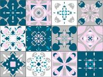 Безшовная текстура вектора заплатки Стоковые Изображения