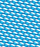 Безшовная текстура волны Стоковое Изображение RF