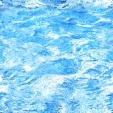 Безшовная текстура воды Стоковые Фото