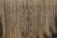 Безшовная текстура деревянной загородки Стоковая Фотография