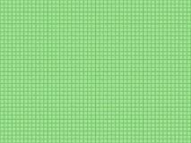 Безшовная текстура зеленой плитки Стоковые Фото
