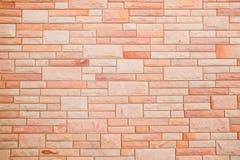 Безшовная текстура кирпичной стены Стоковое Фото