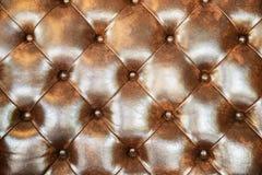 Безшовная текстура кожи темного коричневого цвета Стоковые Фото