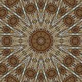 Безшовная текстура концентрического Стоковые Изображения
