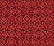 Безшовная текстура на красной предпосылке Стоковая Фотография