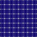 Безшовная текстура панели солнечных батарей Стоковая Фотография RF