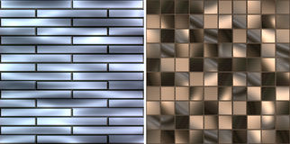 Безшовная текстура плиток Стоковые Фото