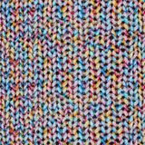 Безшовная текстура связанного свитера Стоковое Изображение RF