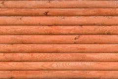 Безшовная текстура современных деревянных панелей имитируя журналы Стоковые Фото