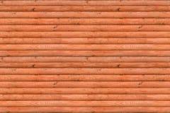 Безшовная текстура современных деревянных панелей имитируя журналы Стоковые Фотографии RF