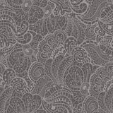 Безшовная текстура с абстрактными цветками Стоковая Фотография RF
