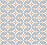 Безшовная текстура с абстрактным орнаментом Стоковые Фотографии RF