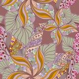 Безшовная текстура с богато украшенными ягодами Стоковое Изображение RF