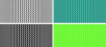 Безшовная текстура с влиянием обмана зрения Стоковое Изображение