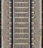 Безшовная текстура следа поезда Стоковые Изображения RF