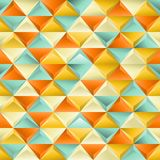 Безшовная текстура с треугольниками. Стоковые Изображения