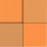 Безшовная текстура установила 2 Стоковые Изображения RF