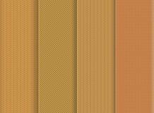 Безшовная текстура установила 3 Стоковые Изображения RF