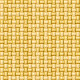 Безшовная текстура шаржа вектора простой соткать сияющих солом Стоковое Изображение RF