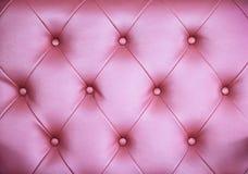 Безшовная темная розовая кожаная предпосылка текстуры Стоковые Фото