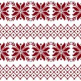 Безшовная ткань Случай С Рождеством Христовым и с новым годом пикселы бесплатная иллюстрация