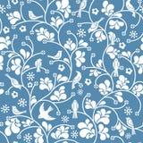 Безшовная флористическая картина Стоковое Фото