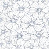 Безшовная флористическая картина Стоковые Изображения
