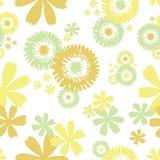 Безшовная флористическая предпосылка Стоковые Изображения RF